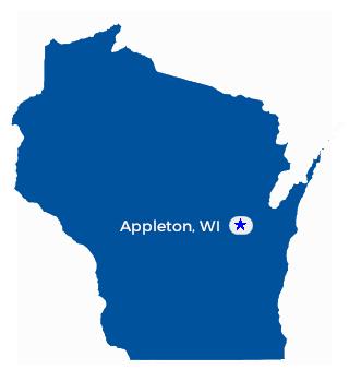 Appleton Wi Map Compressportnederland